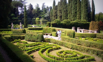 Return visits to the gardens of the Villa Fiesole